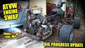 Will it Run? - VW Motorcycle - Junkyard Build - Part 7