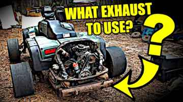 Exhaust Question - UPDATES - VW Motorcycle - ATVW Junkyard Build - Part 8.9