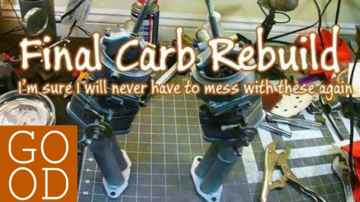 Completing the Kadron Carb Rebuilds