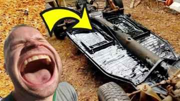 Replace VW Floor Pans in 25 Minutes - (Beetle)