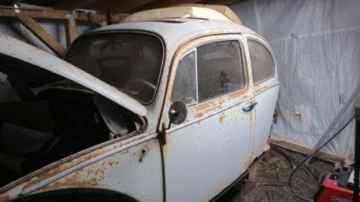 Drivers side Heater channel, 1965 VW Beetle