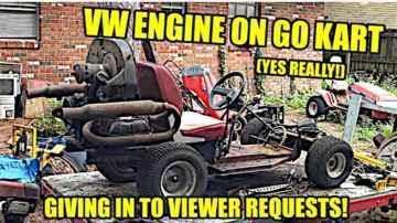 Mowkart Build - VW Engine - Bodywork - VIEWER DEMANDS!