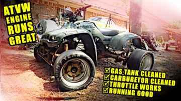 Running GREAT! - VW Motorcycle - ATVW Junkyard Build - Part 8